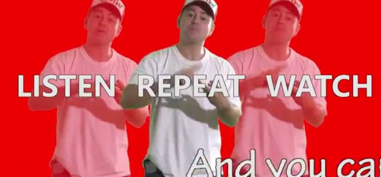 Turn it on – a rap with phrasal verbs,