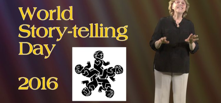 World Story-Telling Day 2016