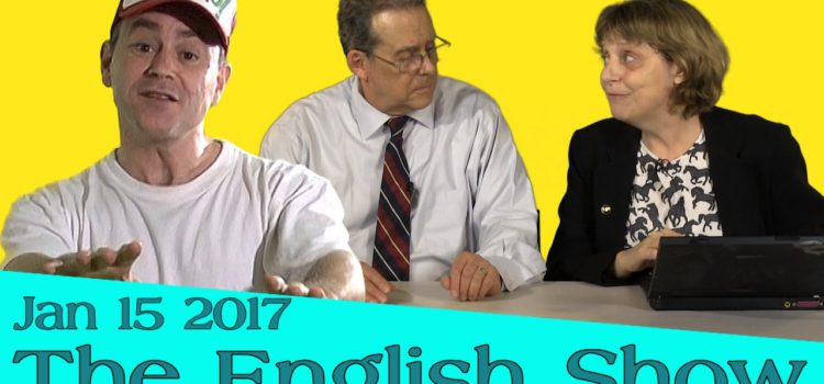The English Show – Getting yourself understood in English