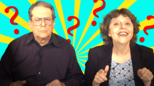 Almost, nearly, amiable, amicable - it's Q & A time!