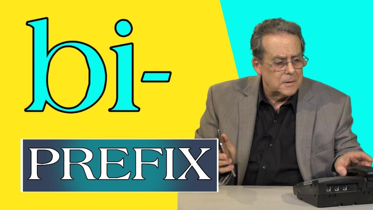 bi- prefix