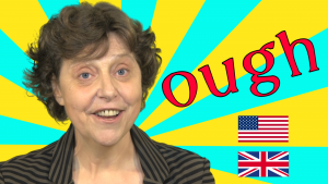 Eight different ways to say 'ough' in English