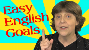 learn English fast goals