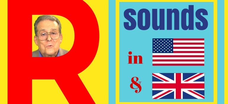The R sound in British and American English