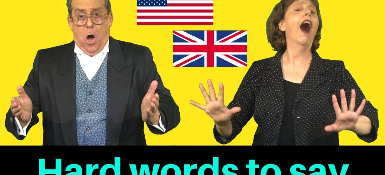 Tricky words to pronounce in British and American English