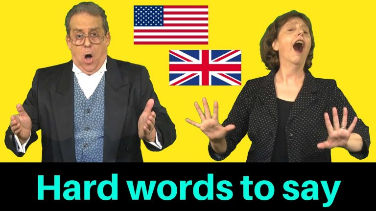 tricky words to pronounce