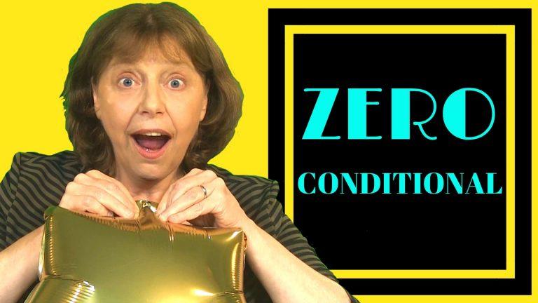 zero conditionals in action