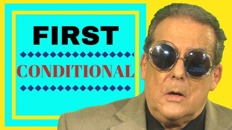 First conditional English grammar