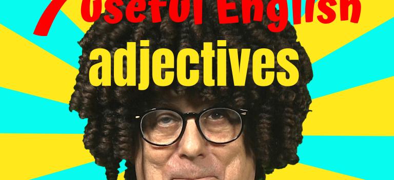 useful english adjectives