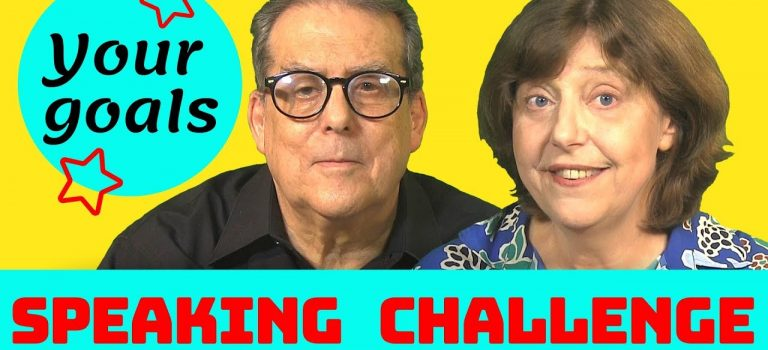 Your English Goals – Speaking Challenge 2019
