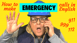 how to report an emergency in English