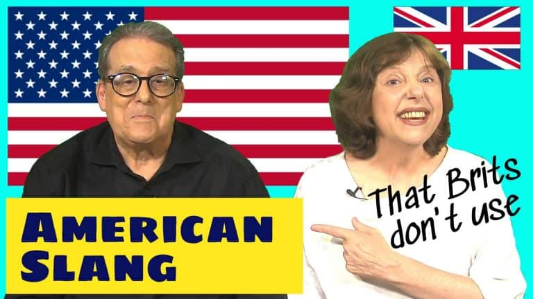 American English slang lesson