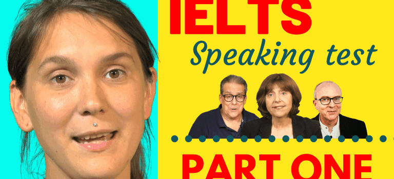 IELTS speaking test part one tips