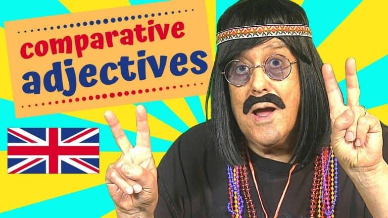 English comparative adjectives