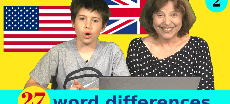 zip zipper British and American words