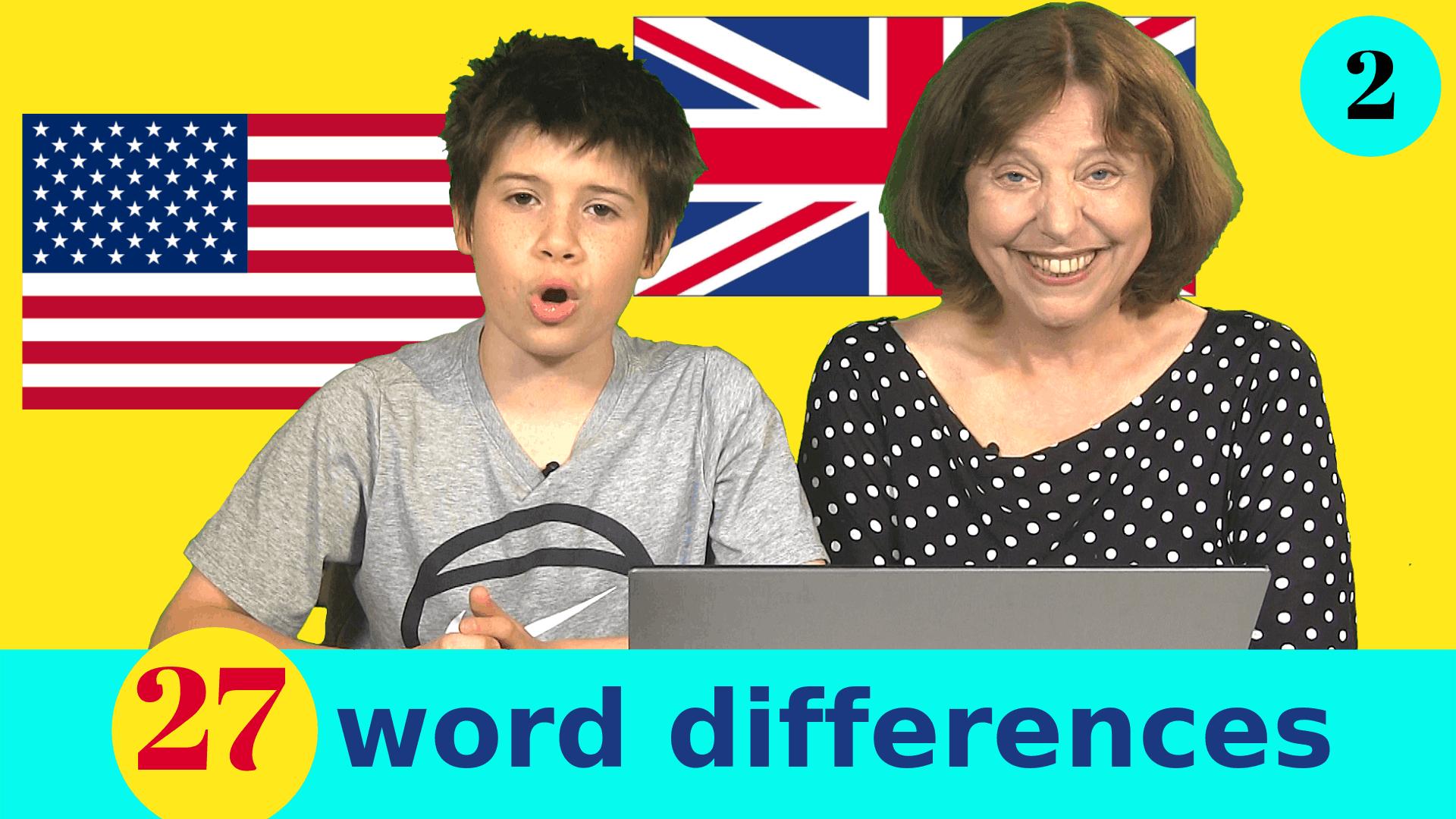 zip zipper British and American words