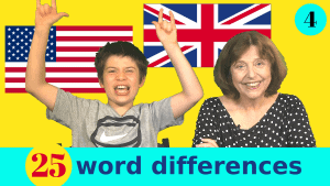 British and American word differences