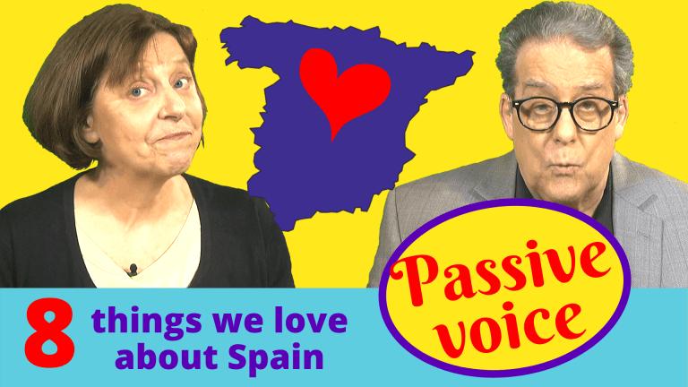 The passive voice in English