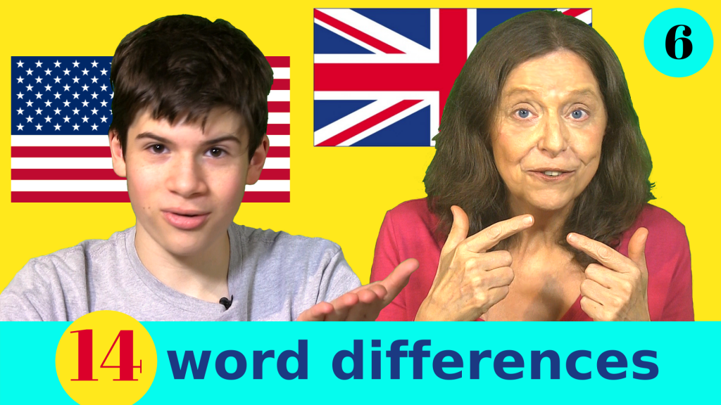 British and American vocabulary differences